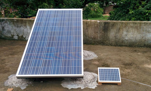 Solar Hydro Heating Project